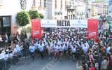 Espectacular resultó la salida de los atletas, en la competencia deportiva. / EDUARDO DE LA VEGA